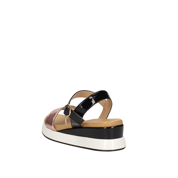 Gattinoni Roma Low Black / Rose gold