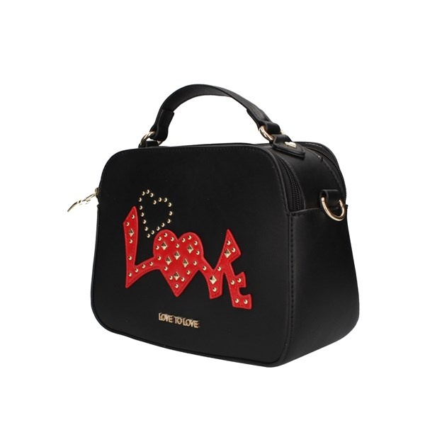 Love To Love Hand Bags Black