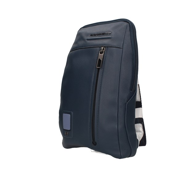 Piquadro Shoulder Blue