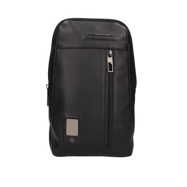 Piquadro Shoulder Black