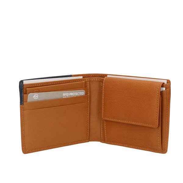 Piquadro Wallets Leather / Blue