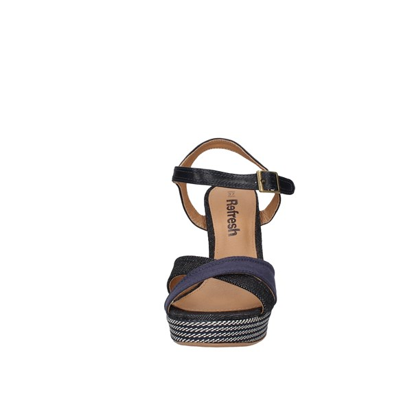Refresh Heeled Shoes With Plateau Woman 69597 7