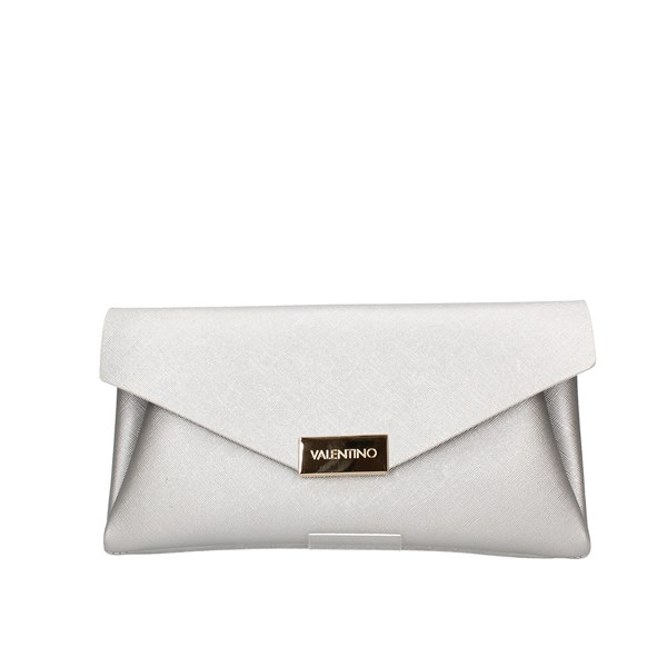 Valentino Bags Evening Clutch Bag Silver