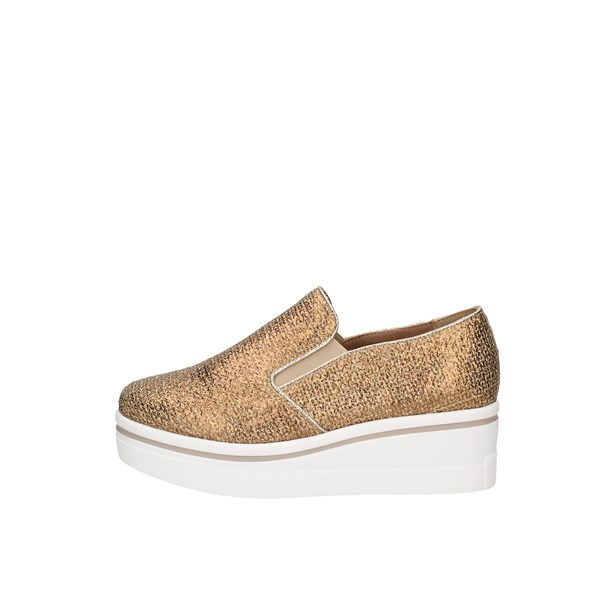 Gold&gold Slip on Gold