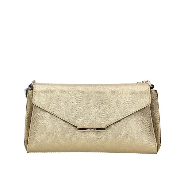 Nine West Evening Clutch Bag Gold