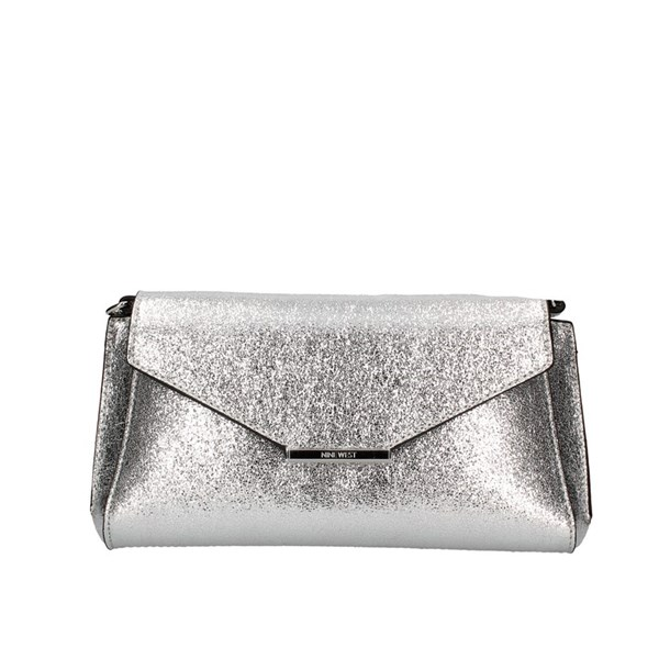 Nine West Evening Clutch Bag Silver