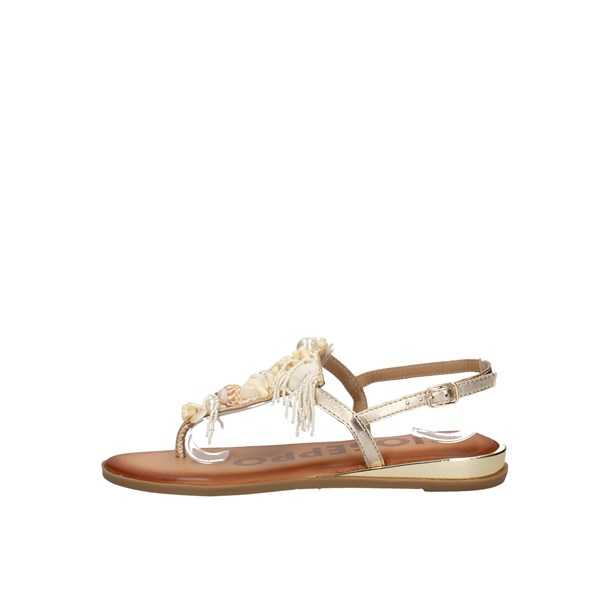 Gioseppo Sandals Gold