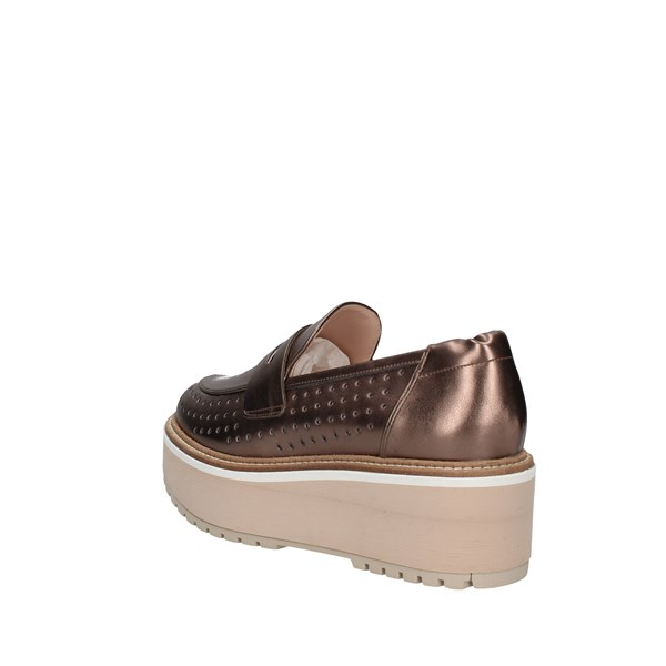Lorenzo Mari Loafers Bronze