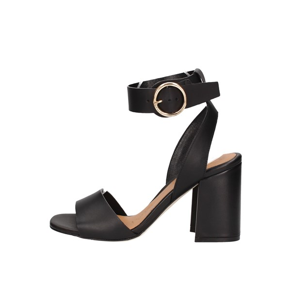 Lorenzo Mari With heel Black