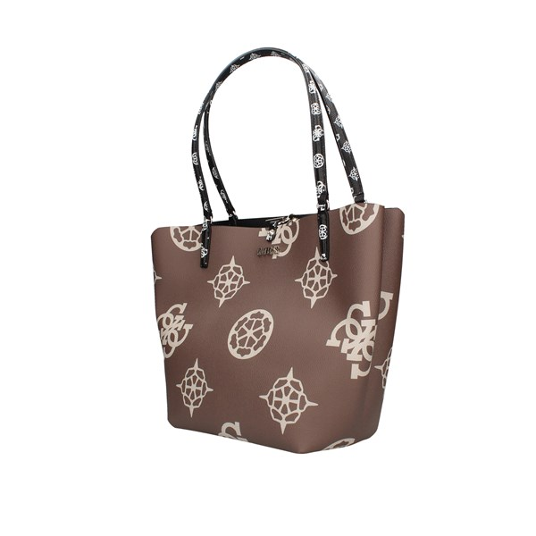 Guess Shopping bags Taupe / black