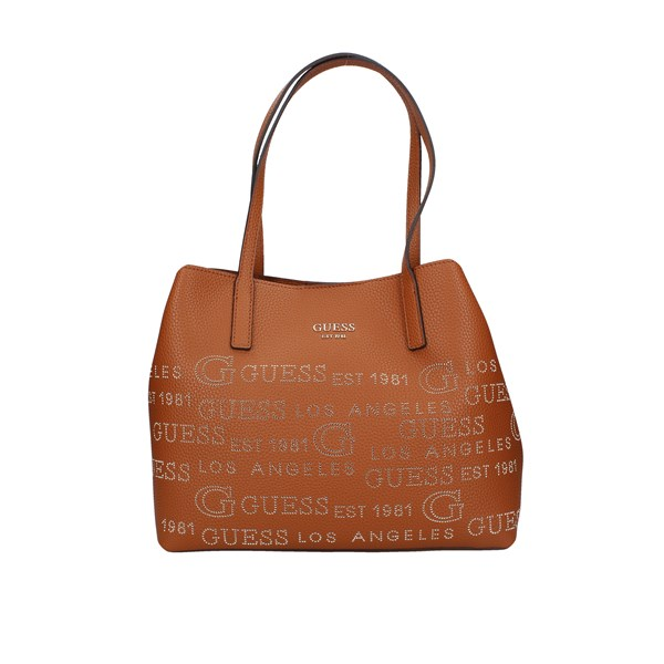 Guess Shopping bags Cognac