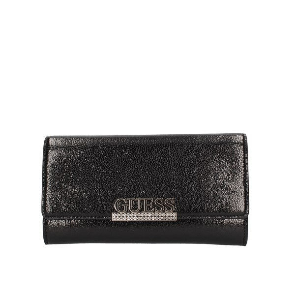 Guess Evening Clutch Bag Black