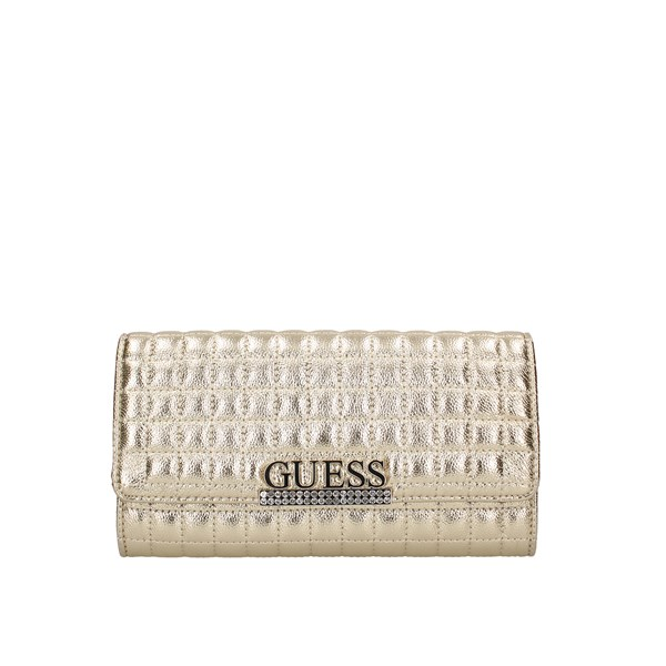Guess Evening Clutch Bag Gold