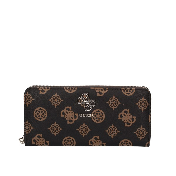 Guess Wallets With zip Swsp6853460 Brown