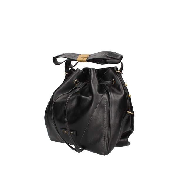 The Bridge Bucket Bags Black / Gold