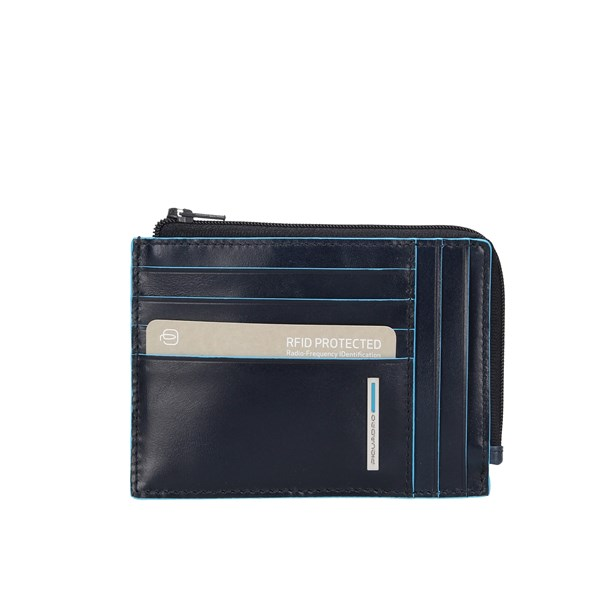 Piquadro Wallets Card Holder Pu1243b2r Blue2