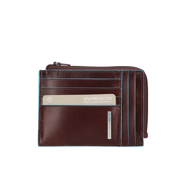 Piquadro Wallets Card Holder Pu1243b2r Mahogany