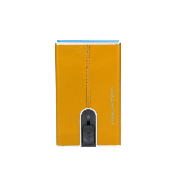 Piquadro Card Holder Yellow