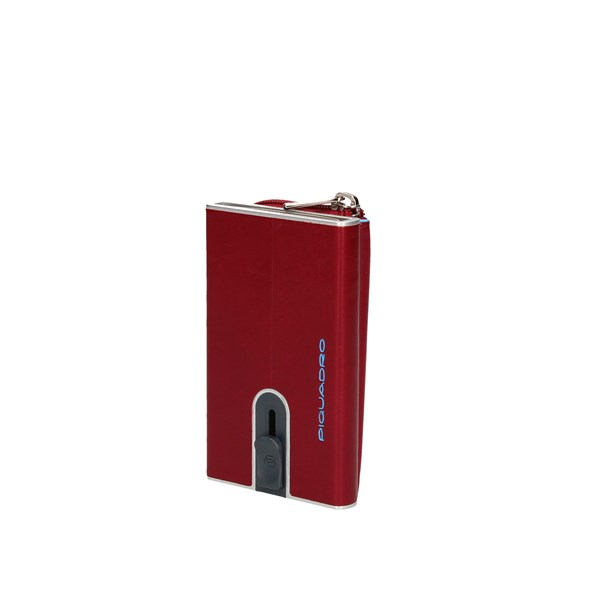Piquadro Card Holder Red