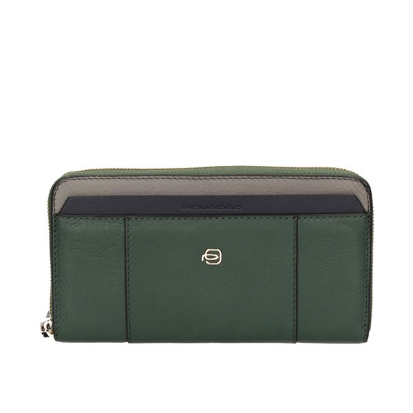 Piquadro With zip Green