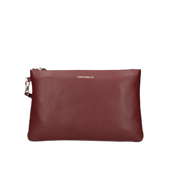 Coccinelle Clutch Bordeaux