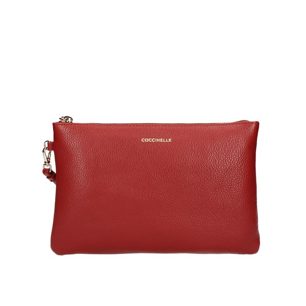 Coccinelle Clutch Red