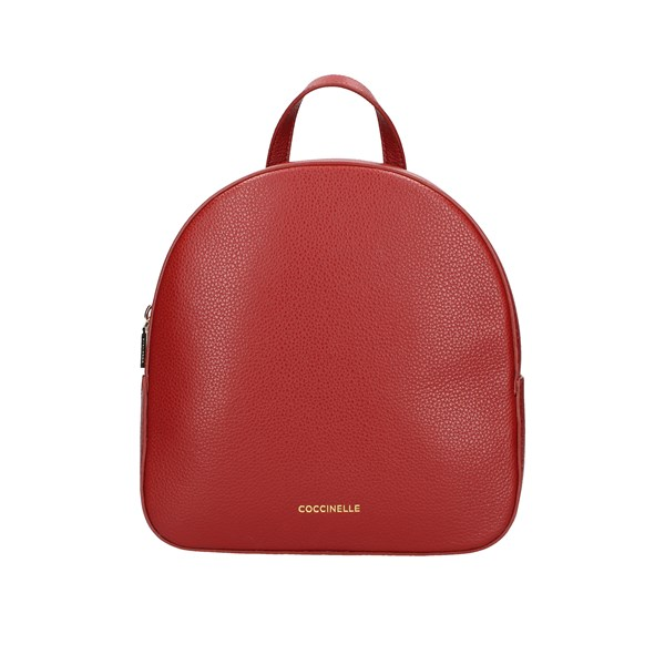 Coccinelle Backpacks Red