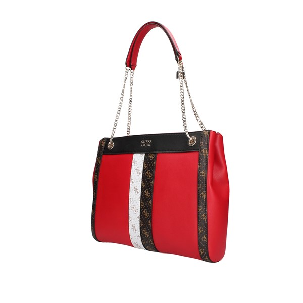 Guess shoulder bags Red Multi