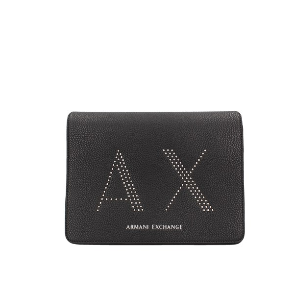 Armani Exchange shoulder bags Black