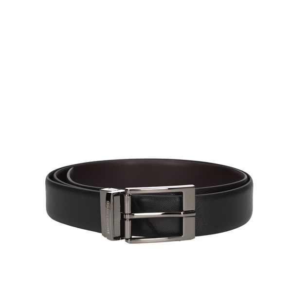 Armani Exchange Belts Black / dark brown