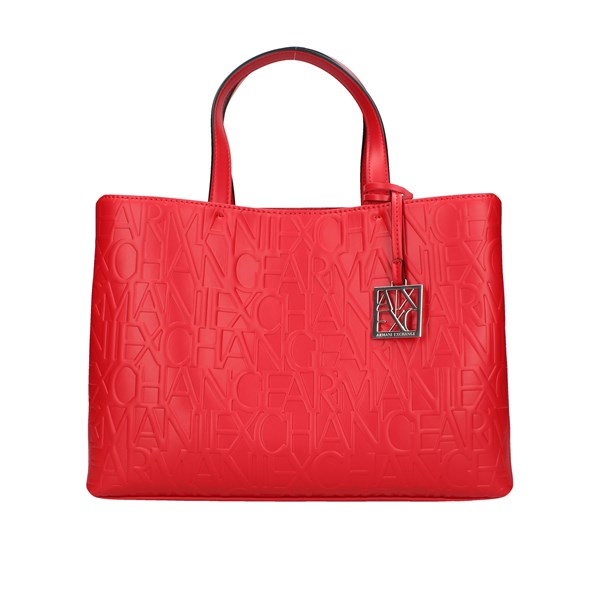 Armani Exchange Shopping bags Red