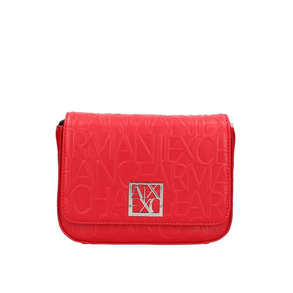 Armani Exchange shoulder bags Red