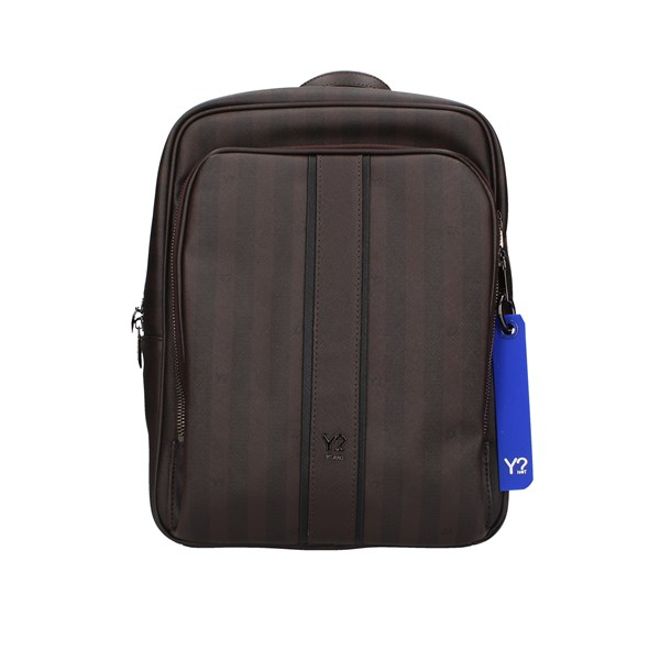 Ynot?  Backpack Man-008f1 Brown