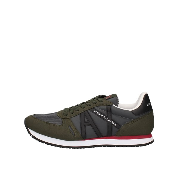Armani Exchange Sneakers  low Xux017-xcc68 Military green