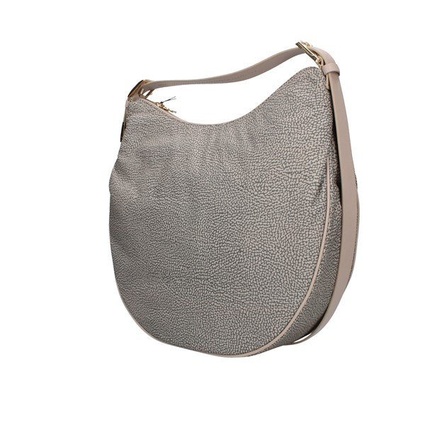 Borbonese shoulder bags Taupe
