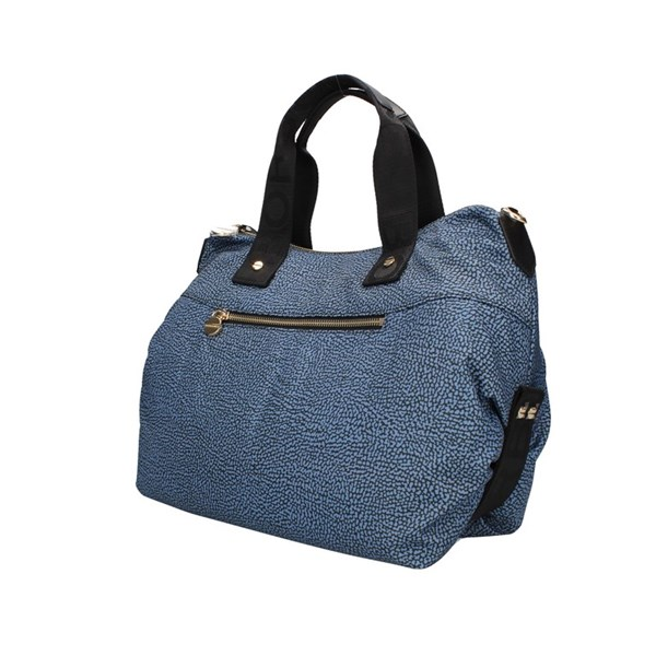Borbonese Hand Bags Blue / black