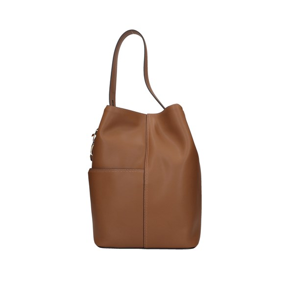 Borbonese Bucket Bags Brown