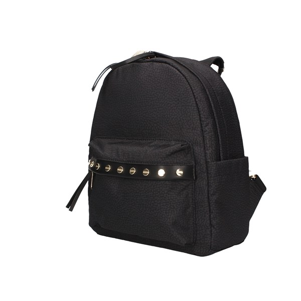 Borbonese Backpacks Black