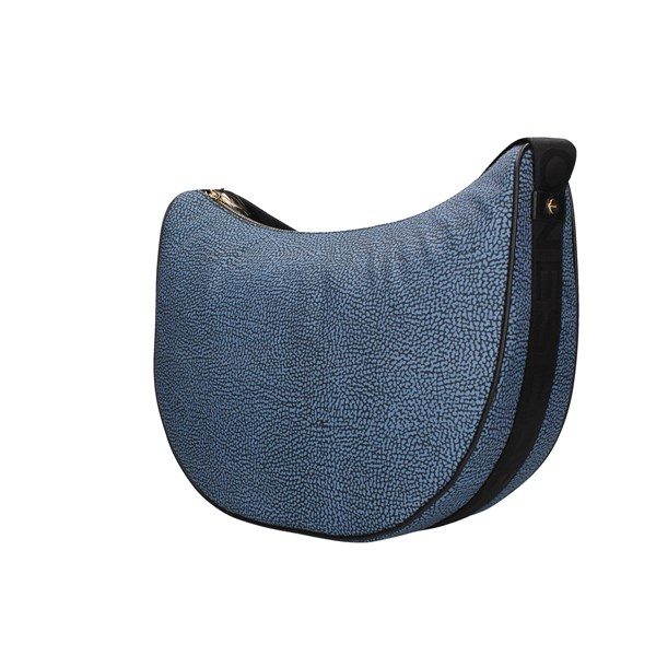 Borbonese shoulder bags Blue / black