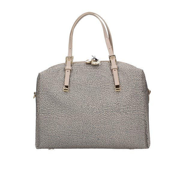 Borbonese Hand Bags Box 934053x99 Taupe