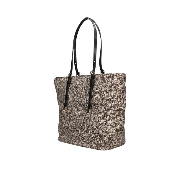 Borbonese Shopping bags Op.nat / black