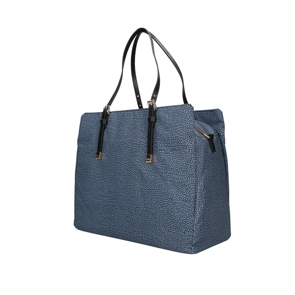 Borbonese Shopping bags Blue / black