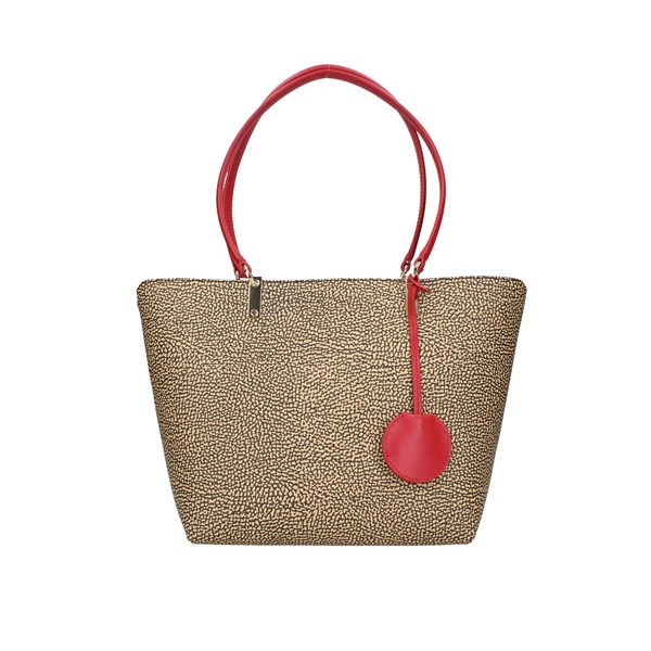 Borbonese Shopping bags Op.nat / red