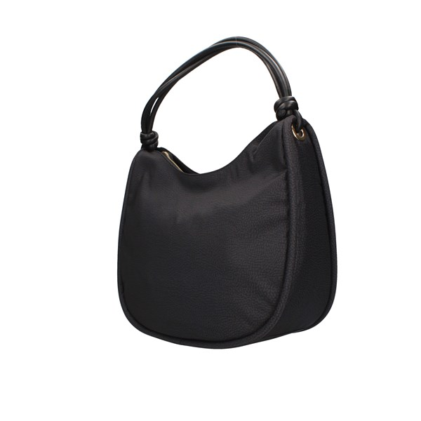 Borbonese shoulder bags Black / orange