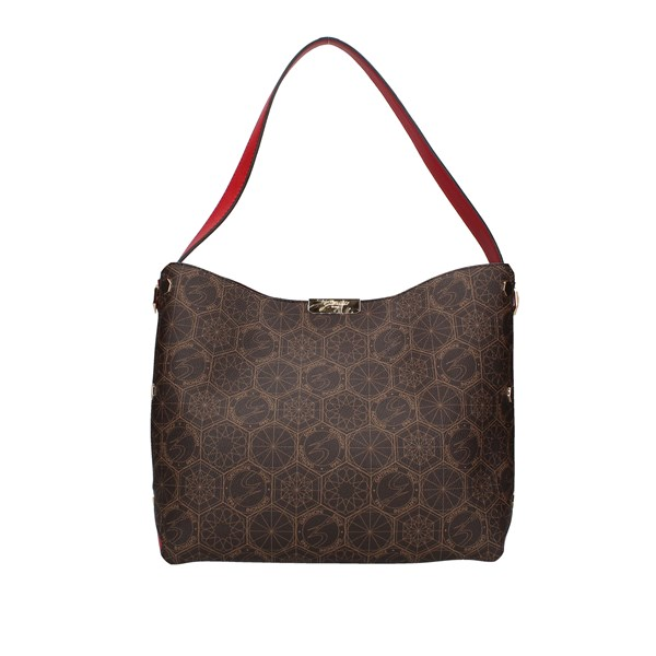 Gattinoni Roma Shoulder bag Brown / red