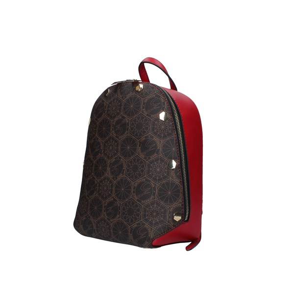 Gattinoni Roma Backpacks Brown / red