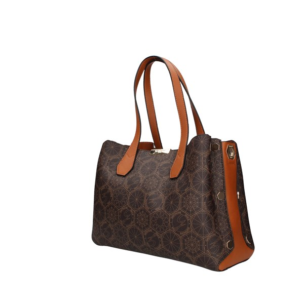 Gattinoni Roma Handbag Brown / leather