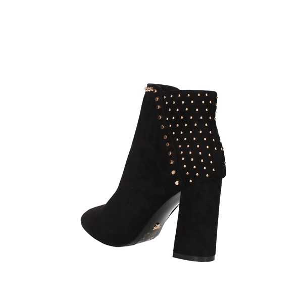 Gold&gold boots Black