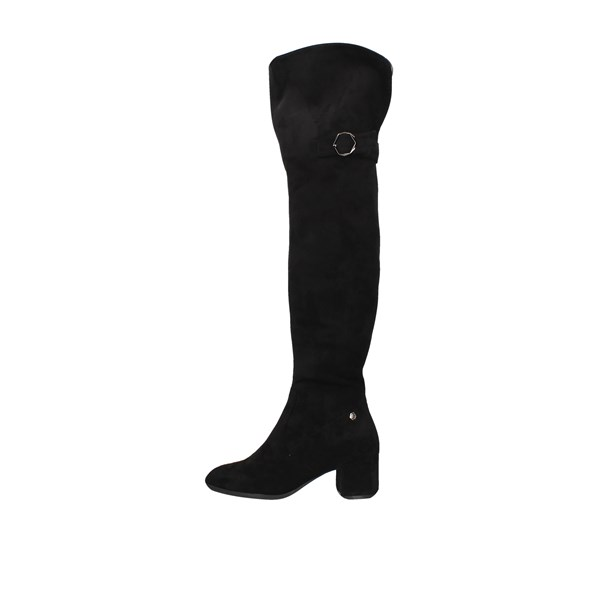 Gattinoni Roma Boots Above the knee Pindd1066wsa Black