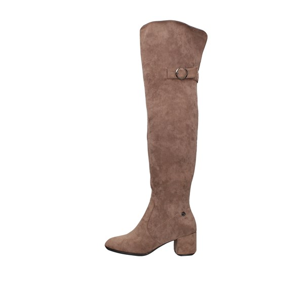 Gattinoni Roma Boots Above the knee Pindd1066wsa Taupe